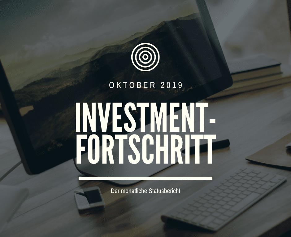 Der monatliche Statusbericht Oktober 2019