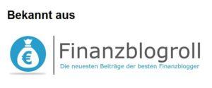 Investmentjourney ist gelistet in der Finanzblogroll