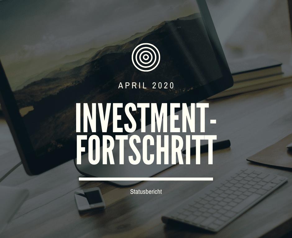 Monatlicher Statusbericht April 2020