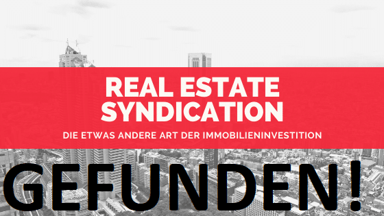 Real Estate Syndication gefunden